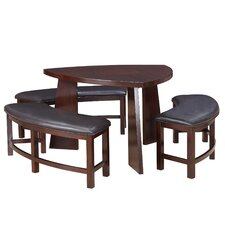 Anton 4 Piece Dining Set