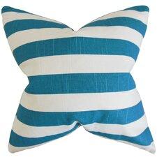Knotts Stripes Cotton Throw Pillow