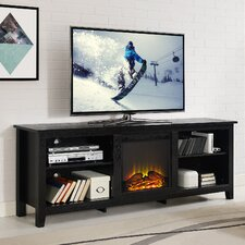 Fifth Street TV Stand with Electric Fireplace
