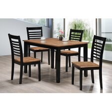 Gold Rush 5 Piece Dining Set by Simmons Casegoods