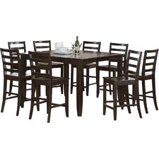 Tamarack 9 Piece Counter Height Dining Set