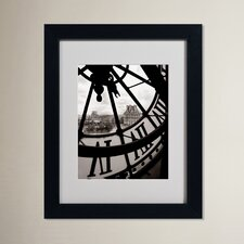 Abrahamic Big Clock Matted Framed Photographic Print