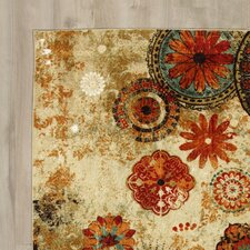 Brainard Alexa Medallion Area Rug