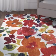 Channel Floral Multi-Printed Area Rug