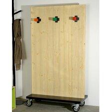 1-tlg. Raumteiler Charpentier 180 cm x 100 cm