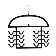 Flocked 2 Piece Tank Top Hanger Set