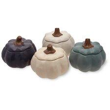 Pumpkin Stoneware Serving Bowl (Set of 4)