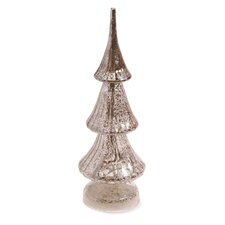 Glass LED Tree Holiday Accent