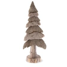 Snowy Grass Tree Home Accent