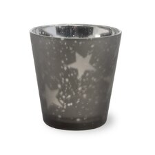 Star Glass Tealight Holder