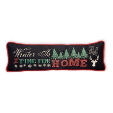 Time for Home Cotton Throw Pillow