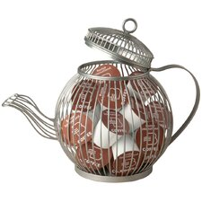 Wire Teapot K-Cup Pod Holder