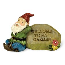 Welcome Gnome Statue (Set of 2)