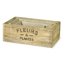 3 Piece Rectangular Planter Box Set