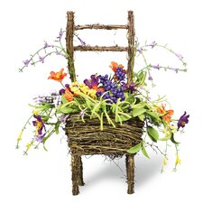 Floral Twig Chair