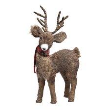Deer with Scarf Figurine (Set of 2)