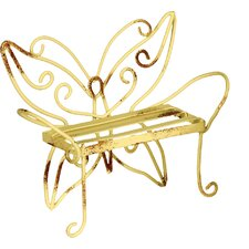 Butterfly Metal Bench Fairy Accessory (Set of 2)