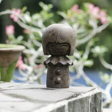 Volcanic Ash Silly Kokeshi Doll Statue