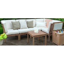 Willow Armless Lounge Chair with Cushion