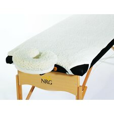 Fleece Pad Set with Face Cradle Cover (Set of 2)
