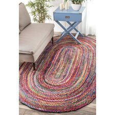 Tammara Hand-Braided Multi Area Rug
