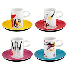 Tchaikovsky Expresso Cup (Set of 4)
