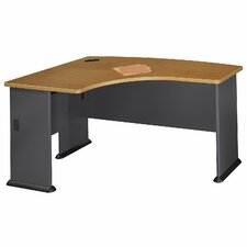 Series A L-Bow Desk Shell
