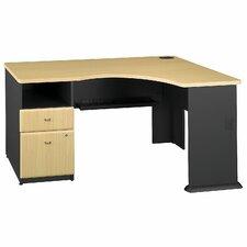 Series A Expandable Single Pedestal Executive Desk