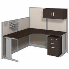 Office-in-an-Hour L-Shape Desk