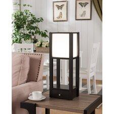 "Wooden Shelf  24"" Table Lamp"