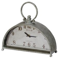 Half Time Table Clock