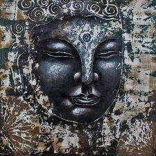 "Leinwandbild ""Buddha"", Kunstdruck"