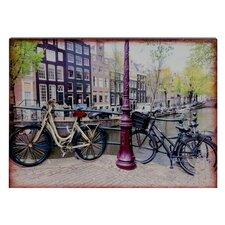 3D-Wandschild Amsterdam - 45 x 60 cm