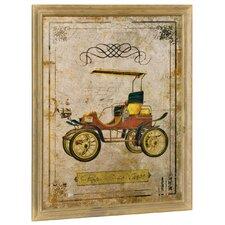Wandbild Oldtimer - 59 x 46 cm