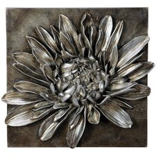 Wanddekoration Chrysantheme