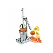 Royal Cook Stainless Steel Manual Lever Press Citrus Juicer
