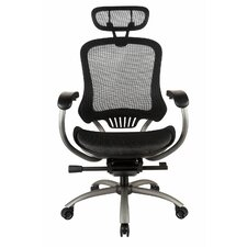 TygerClaw High-Back Mesh Office Chair with Headrest