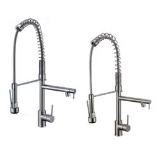Deo Single Deck Mounted Kitchen Faucet with Pot Filler