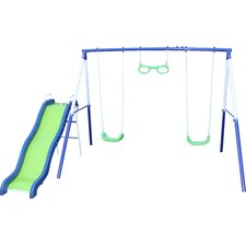 Sierra Vista Metal Slides and Swing Set