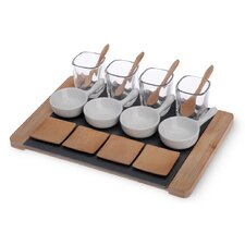Small Bites 17 Piece Deluxe Tapas Serving Set