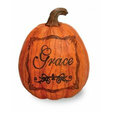 Grace Pumpkin Sculpture