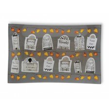 """Tombstones 8.5"""" Rectangle Plate (Set of 2)"""
