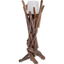 Driftwood Pillar Candle Holder