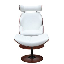Luxur Lounge Chair and Ottoman Set