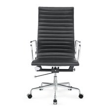 Togo High-Back Leather Office Chair