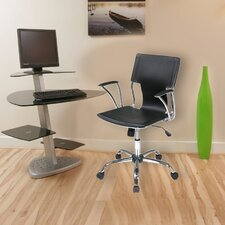 Elegant Mid-Back Office Chair