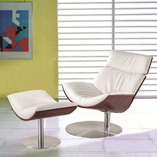 Impress Lounge Chair and Ottoman Set