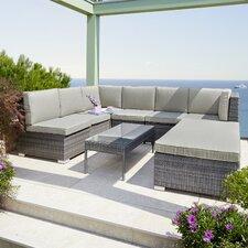 8-tlg. Lounge-Set Malibu mit Kissen