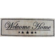Fußabstreifer Coir Welcome Home