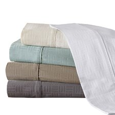 400 Thread Count Cotton Jacquard Sheet Set